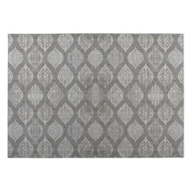 Elna Gray Indoor/Outdoor Doormat Mat Size: Rectangle 8 x 10