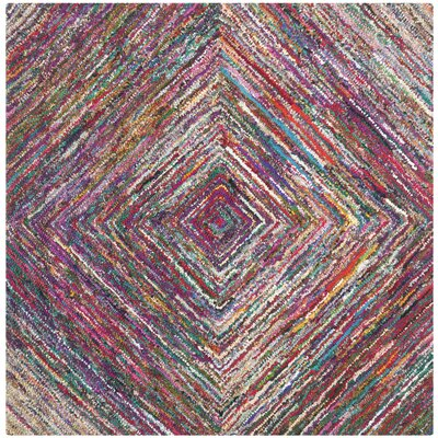 Anaheim Hand-Tufted Area Rug Rug Size: Square 6