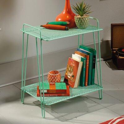 Almelo End Table Color: Green