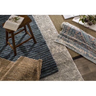 Amicus Gray/Ivory Area Rug Rug Size: Rectangle 67 x 92