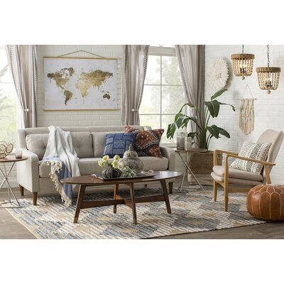 Goshen Area Rug Rug Size: Rectangle 76 x 96