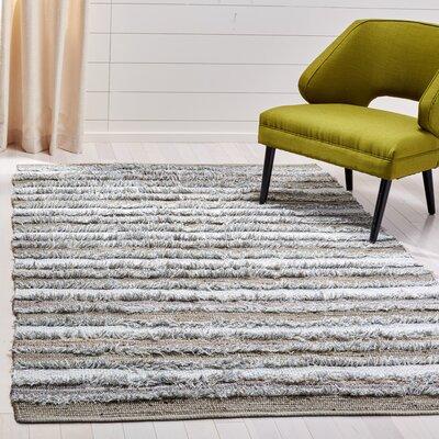 Bester Hand-Woven Cotton Beige Area Rug Rug Size: Rectangular 5 x 8