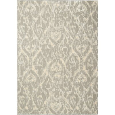 Shaima Gray/Beige Area Rug Size: 53 x 75