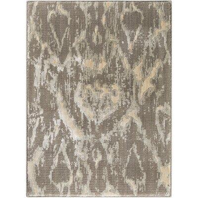 Shaima Gray/Beige Area Rug Size: 23 x 3