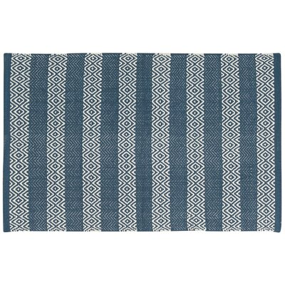 Arapaho Blue Area Rug Rug Size: Rectangle 2 x 3