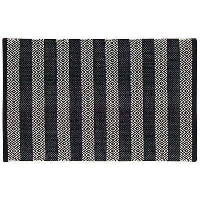 Arapaho Black Area Rug Rug Size: Rectangle 2 x 3