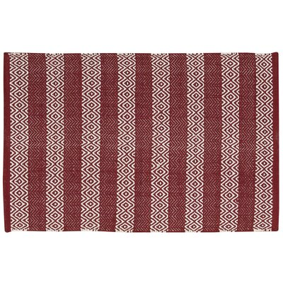 Arapaho Red Area Rug Rug Size: Rectangle 2 x 3