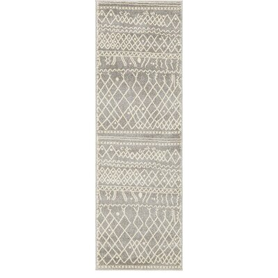 Foxhill Gray Area Rug Rug Size: Runner 2 x 6