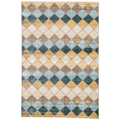 Terrance Cobblestone Area Rug Rug Size: Rectangle 2' x 3'