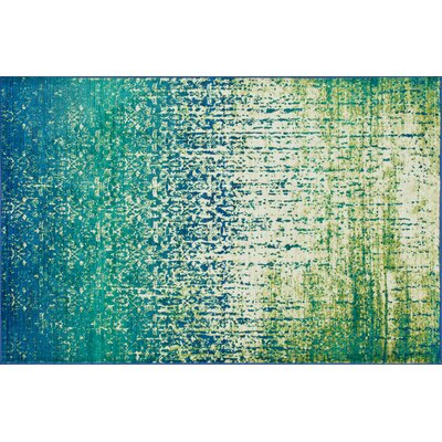 Cedro Blue/Green Area Rug Rug Size: Rectangle 52 x 77