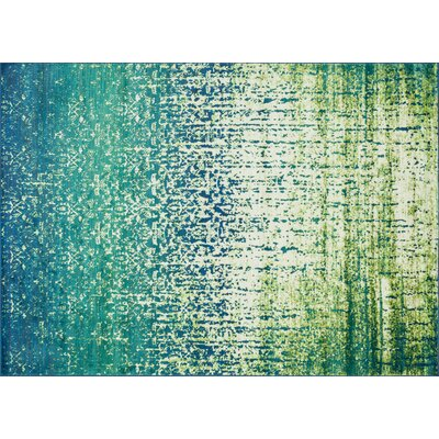 Cedro Blue/Green Area Rug Rug Size: Rectangle 77 x 105