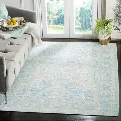 Chauncey Seafoam Area Rug Rug Size: Rectangle 3 x 10