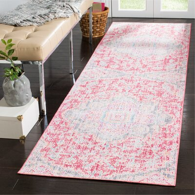 Chauncey Rose / Seafoam Area Rug Rug Size: Rectangle 3 x 10