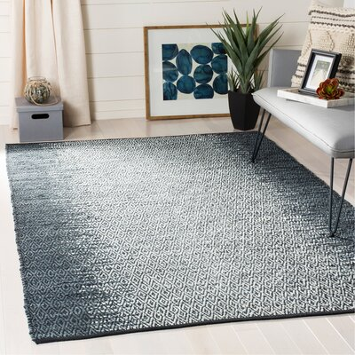 Glostrup Contemporary Hand Tufted Gray Area Rug Rug Size: Rectangle 4 x 6