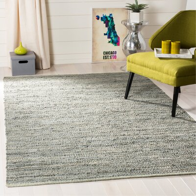 Glostrup Hand Tufted Gray Area Rug Rug Size: Rectangle 4 x 6