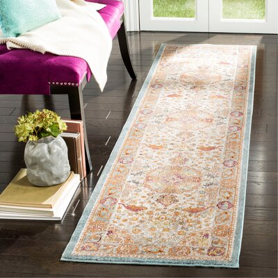 Andy Beige Area Rug Rug Size: Runner 2 x 8