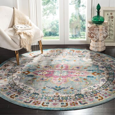 Andy Green Area Rug Rug Size: Round 65
