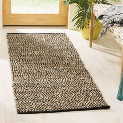 Glostrup Contemporary Hand Tufted Brown Area Rug Rug Size: Runner 23 x 6