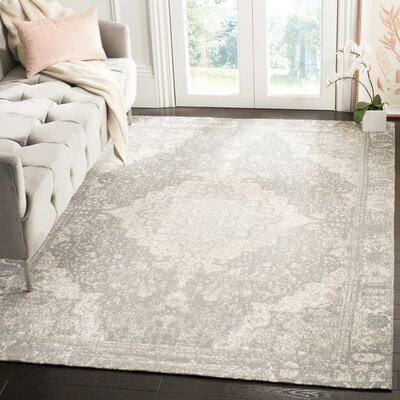 Chenault Silver Area Rug Rug Size: Rectangle 5 x 8