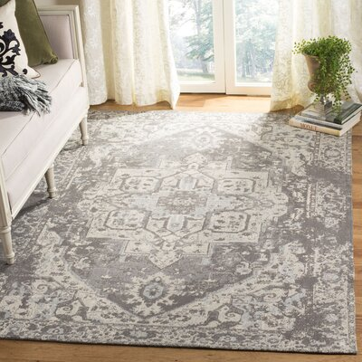 Chenault Gray Area Rug Rug Size: Rectangle 5 x 8