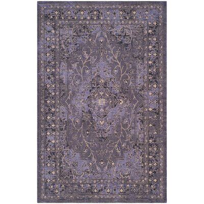 Port Laguerre Purple Area Rug Rug Size: Rectangle 5 x 8
