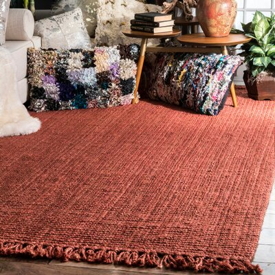 Chappell Hand-Woven Terra Area Rug Rug Size: Rectangle 86 x 116