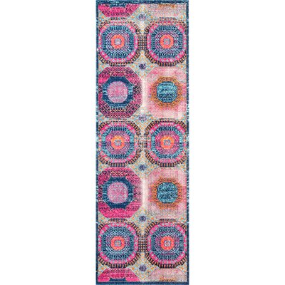 Lawrence Multi Area Rug Rug Size: Runner 28 x 8