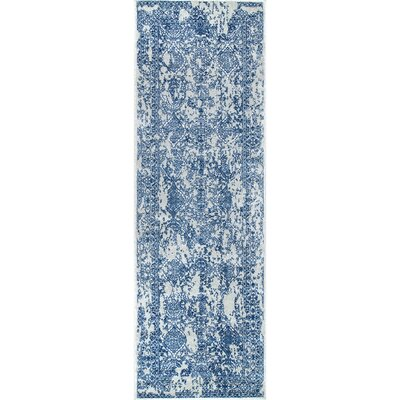 Pittwater Navy Blue Area Rug Rug Size: Runner 28 x 8