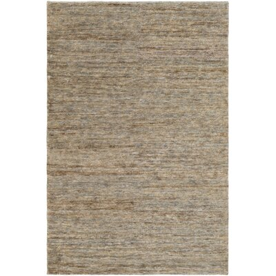 Nondoue Gray Area Rug Rug Size: Rectangle 5 x 76