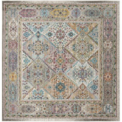 Andy Cream Indoor Area Rug Rug Size: Square 65