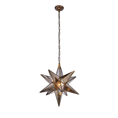 Chemaia 1-Light Geometric Pendant