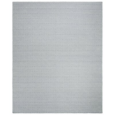 Davida Silver/Ivory Area Rug Rug Size: Rectangle 8 x 10