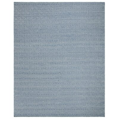 Davida Blue/Ivory Area Rug Rug Size: Rectangle 8 x 10