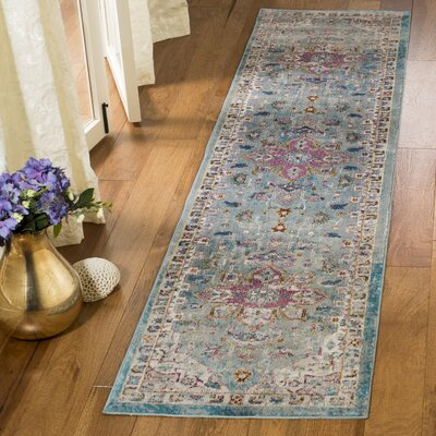 Andy Green Area Rug Rug Size: Runner 2 x 8