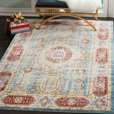 Doline Oriental Area Rug Rug Size: Rectangle 5 x 8