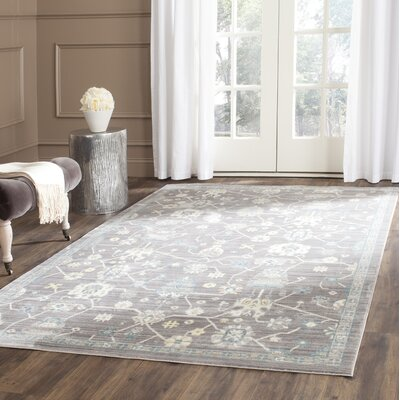 Croghan Gray Area Rug Rug Size: Rectangle 5 x 8