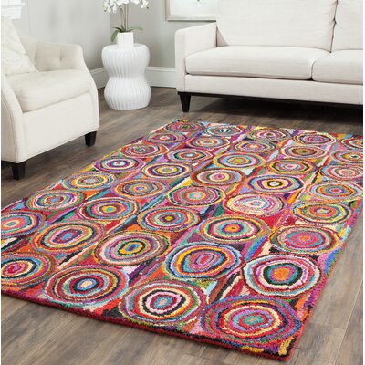 Sergio Circle Area Rug Rug Size: Rectangle 4 x 6