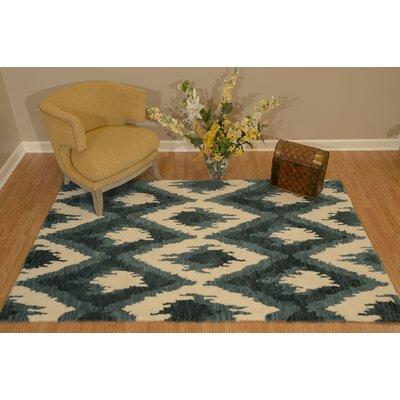 Pisano Denim Blue Area Rug Rug Size: Rectangle 710 x 106