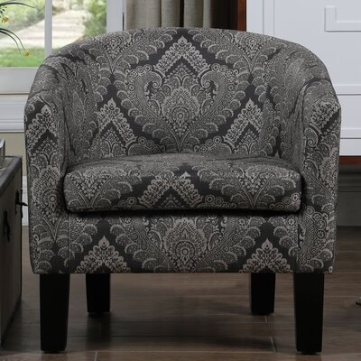 Livermore Barrel Chair Upholstery: Charcoal