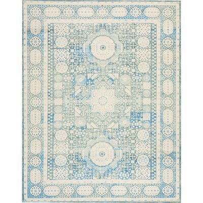 Union Point Teal Area Rug Rug Size: Rectangle 710 x 10