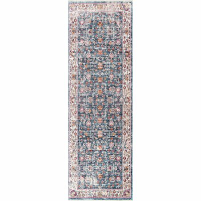 Pensford Blue Area Rug Rug Size: Runner 2'6