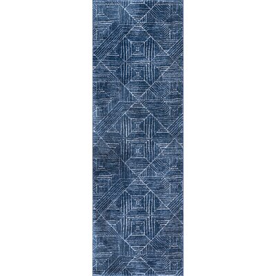 Pensford Blue Area Rug Rug Size: Runner 28 x 8