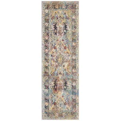 Miles Light Purple/Rose Area Rug Rug Size: Runner 22 x 7