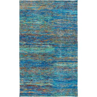 Cadwell Aqua Area Rug Rug Size: 8 x 11