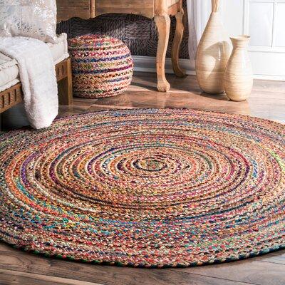 Sumitra Multicolor Area Rug Rug Size: Round 8