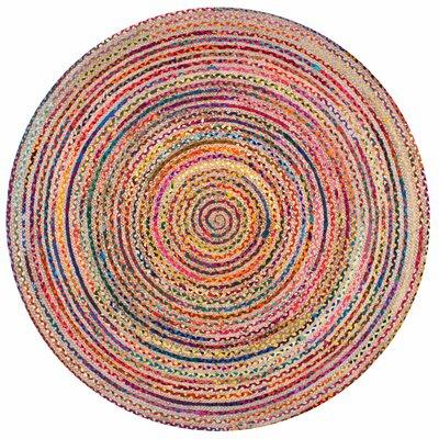 Sumitra Multicolor Area Rug Rug Size: Round 6