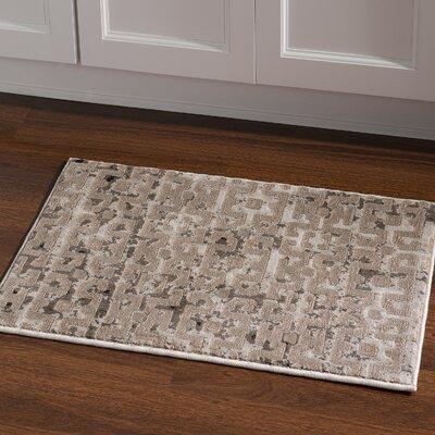 Pasho Beige/Gray Area Rug Rug Size: Rectangle 2 x 3