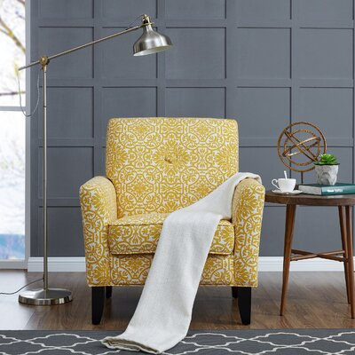 Deer Trail Armchair Upholstery: Gold