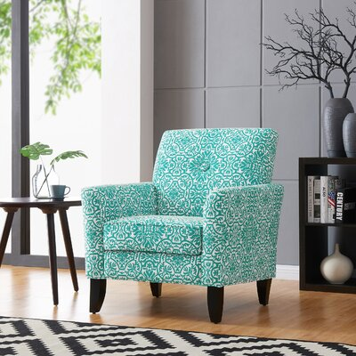 Deer Trail Armchair Upholstery: Turquoise