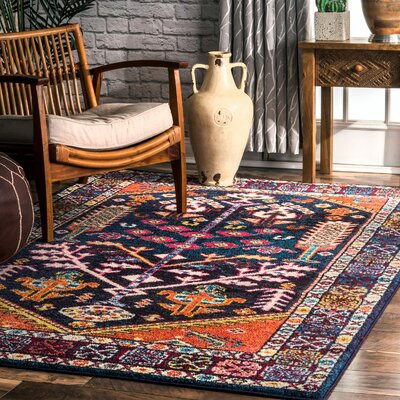 Bendre Area Rug Rug Size: Rectangle 53 x 77